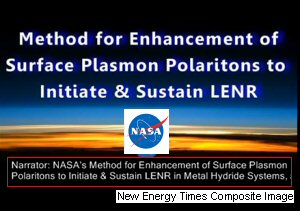 NASA's Video Announcing LENR Method Based on the Widom and Larsen LENR Method